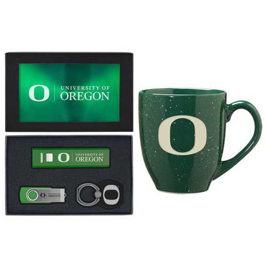 SET-A2-OREGON-GRN: LXG Set A2 Tech Mug, Oregon
