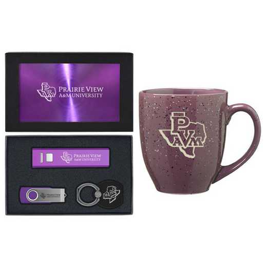 SET-A2-PRVWAM-PURP: LXG Set A2 Tech Mug, Prairie View A&M
