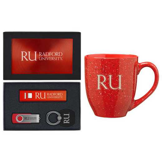 SET-A2-RADFORD-RED: LXG Set A2 Tech Mug, Radford