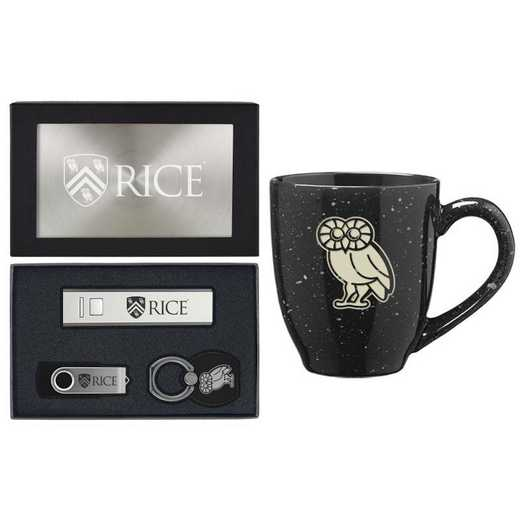 SET-A2-RICE-SIL: LXG Set A2 Tech Mug, Rice