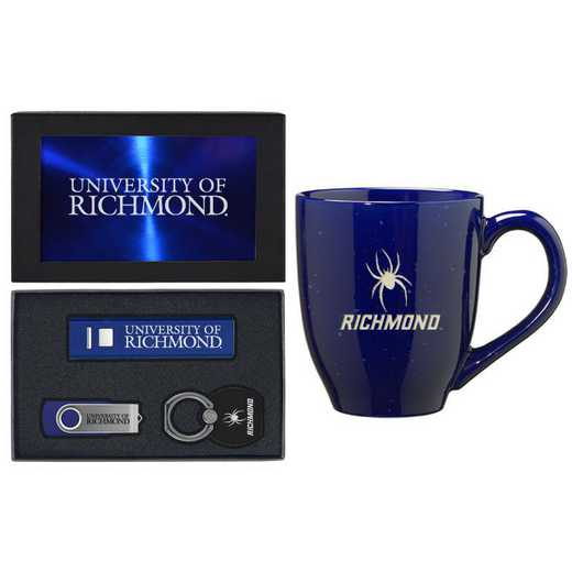 SET-A2-RICHMON-BLU: LXG Set A2 Tech Mug, Richmond