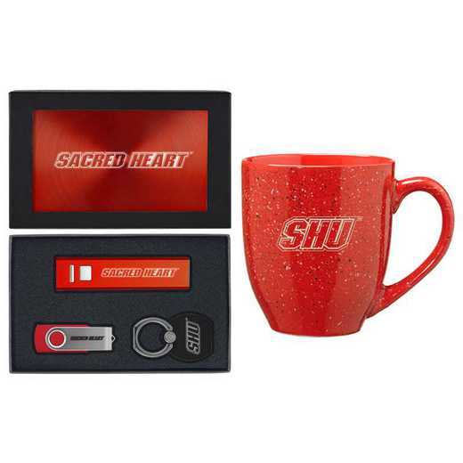 SET-A2-SACRHRT-RED: LXG Set A2 Tech Mug, Sacred Heart