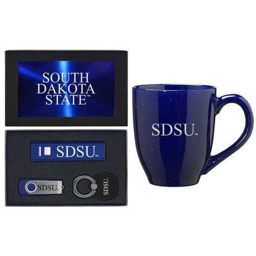 SET-A2-SDKTAST-BLU: LXG Set A2 Tech Mug, South Dakota State