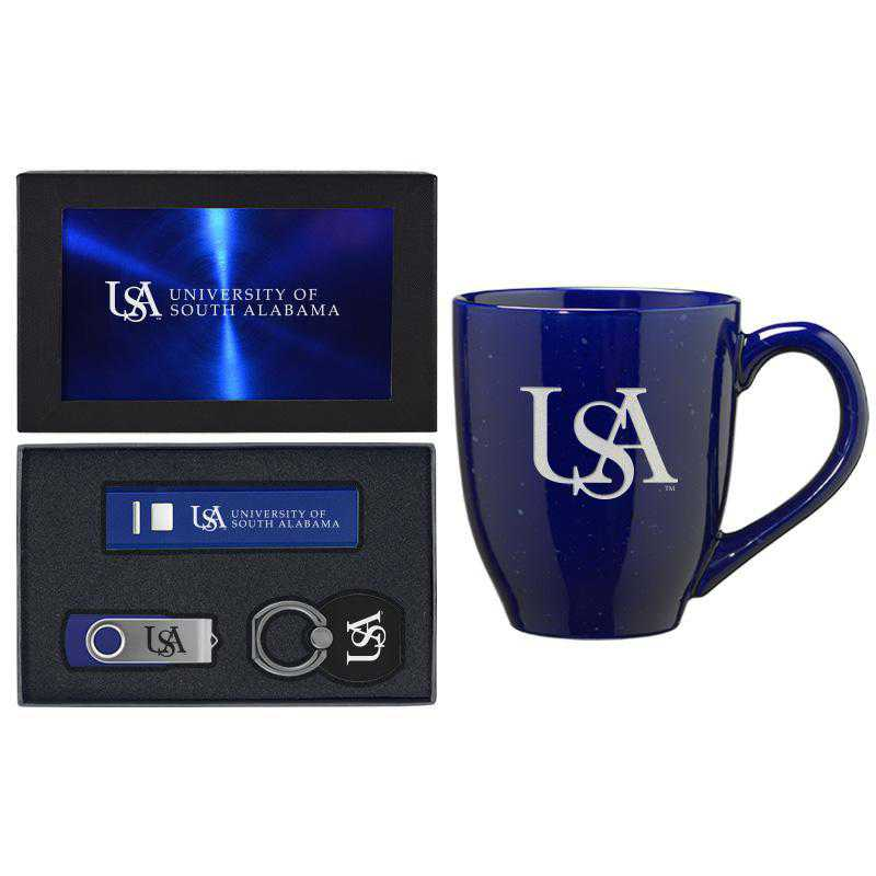 SET-A2-STHALAB-BLU: LXG Set A2 Tech Mug, South Alabama
