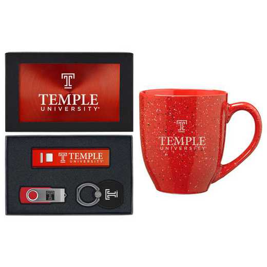 SET-A2-TEMPLE-RED: LXG Set A2 Tech Mug, Temple