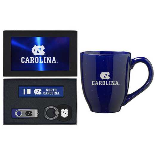 SET-A2-UNC-BLU: LXG Set A2 Tech Mug, North Carolina