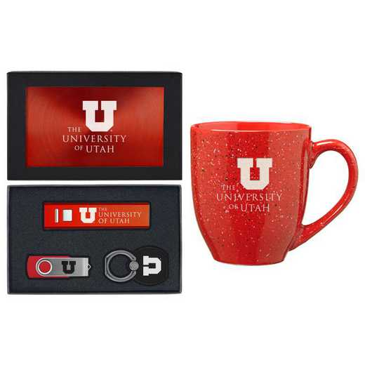 SET-A2-UTAH-RED: LXG Set A2 Tech Mug, Utah