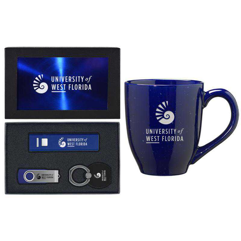 SET-A2-WESTFL-BLU: LXG Set A2 Tech Mug, West Florida