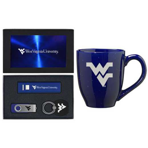 SET-A2-WESTVA-BLU: LXG Set A2 Tech Mug, West Virginia