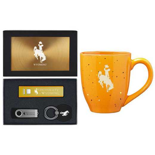 SET-A2-WYOMING-GLD: LXG Set A2 Tech Mug, Wyoming