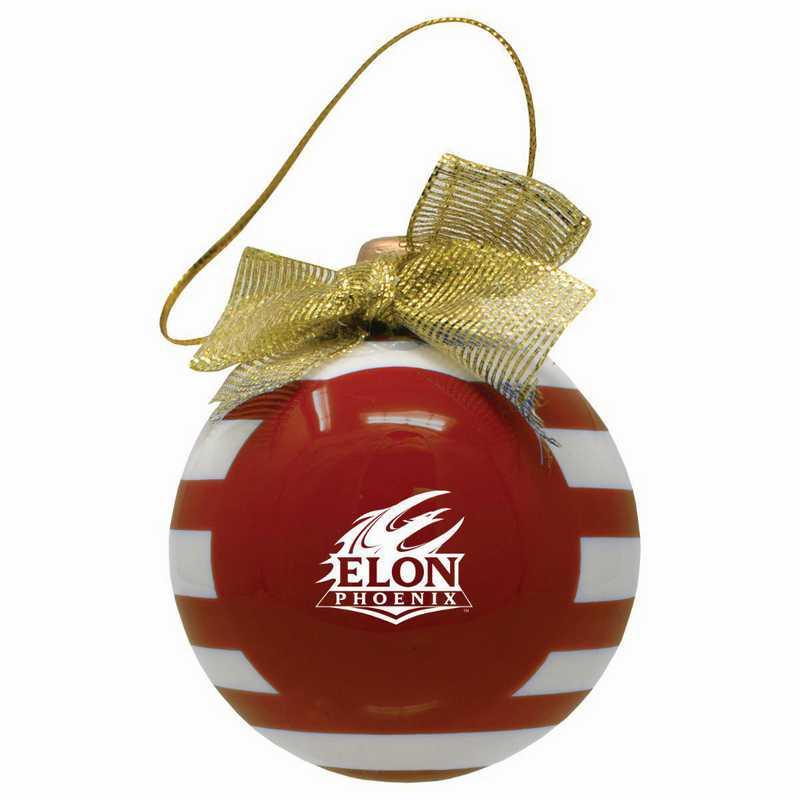 CER-4022-ELON-LRG: LXG CERAMIC BALL ORN, Elon