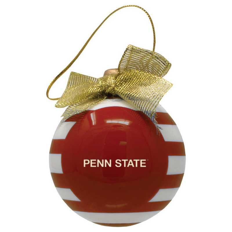 CER-4022-PENNST-CLC: LXG CERAMIC BALL ORN, Penn State