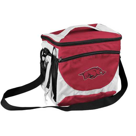 108-63: NCAA  Arkansas 24 Can Cooler