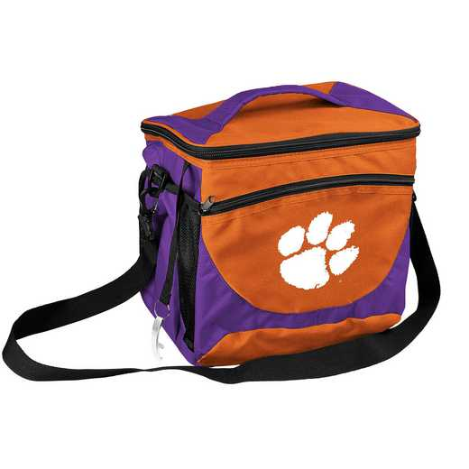 123-63: NCAA  Clemson 24 Can Cooler