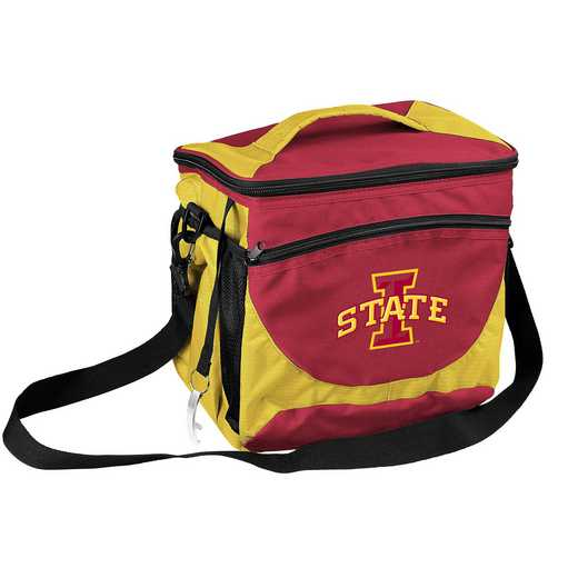 156-63: NCAA  IA State 24 Can Cooler