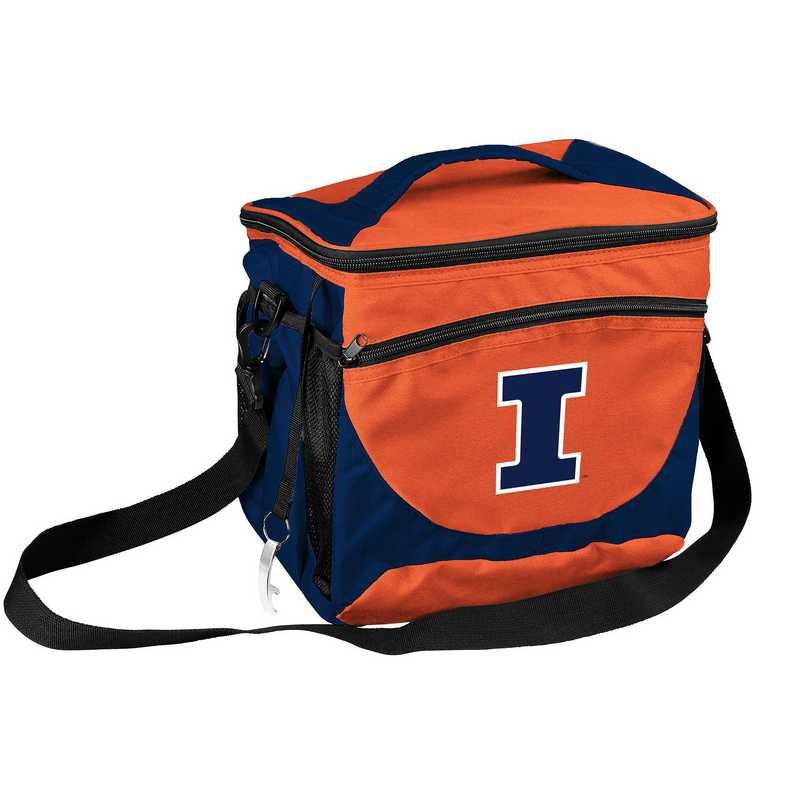 151-63: NCAA  Illinois 24 Can Cooler