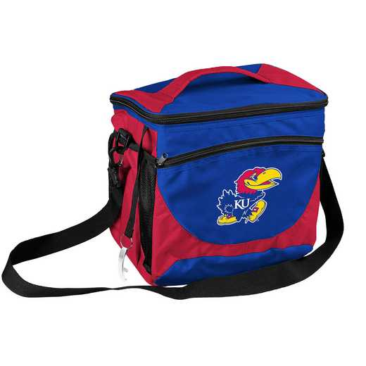157-63: NCAA  Kansas 24 Can Cooler