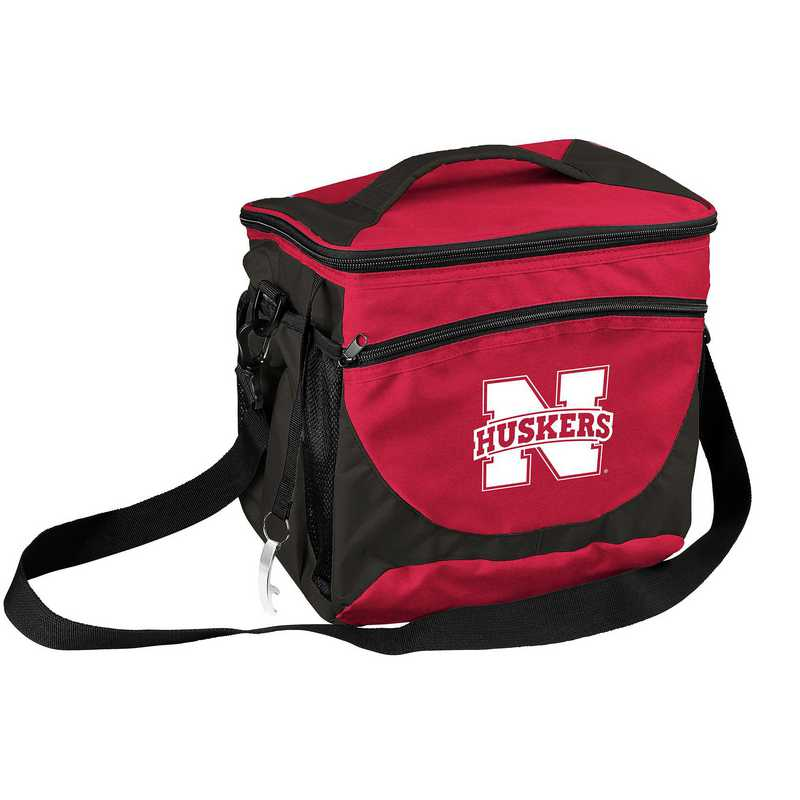 182-63: NCAA  Nebraska 24 Can Cooler