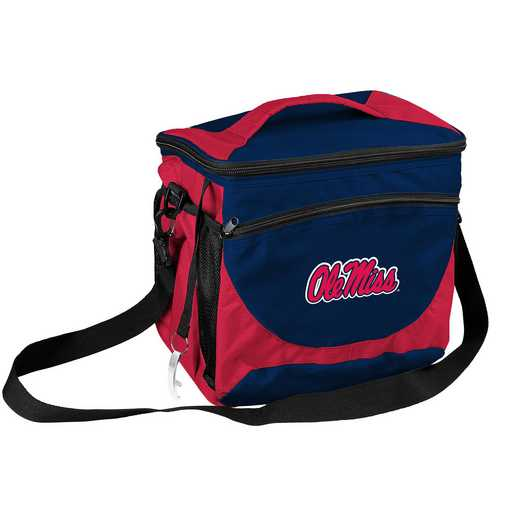 176-63: NCAA  Ole Miss 24 Can Cooler