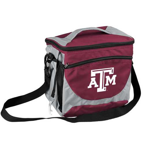 219-63: NCAA  TX A&M 24 Can Cooler