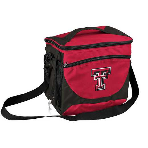 220-63: NCAA  TX Tech 24 Can Cooler