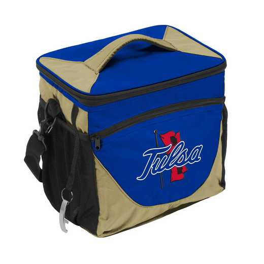 224-63: NCAA  Tulsa 24 Can Cooler