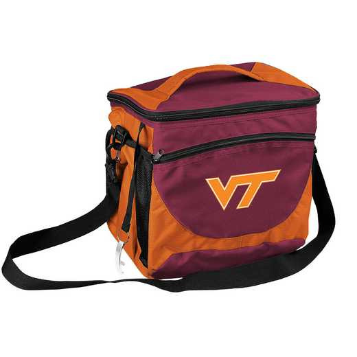 235-63: NCAA  VA Tech 24 Can Cooler