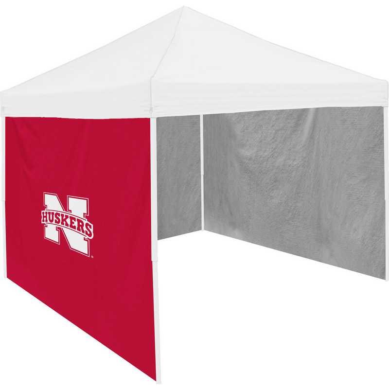 182-48: Nebraska Red 9 x 9 Side Panel