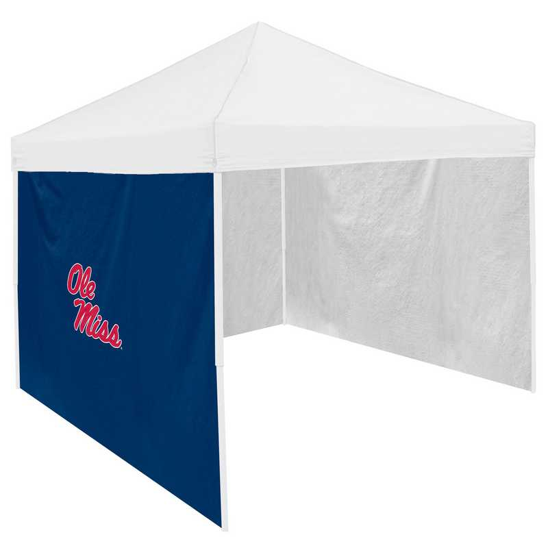 176-48: Ole Miss Navy 9 x 9 Side Panel