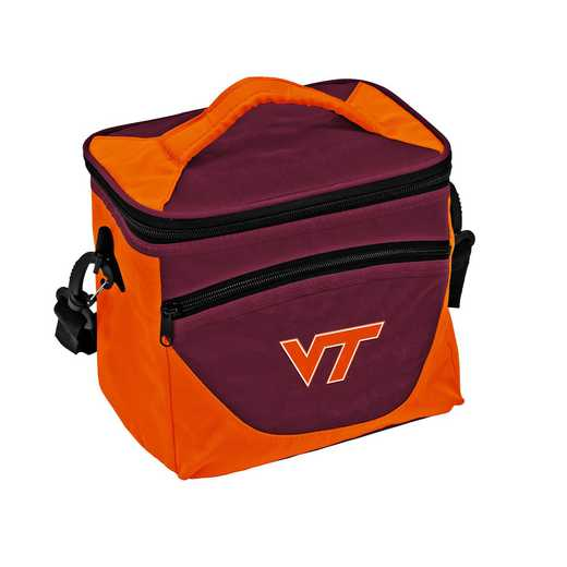 235-55H: NCAA VA Tech Halftime Lunch Cooler