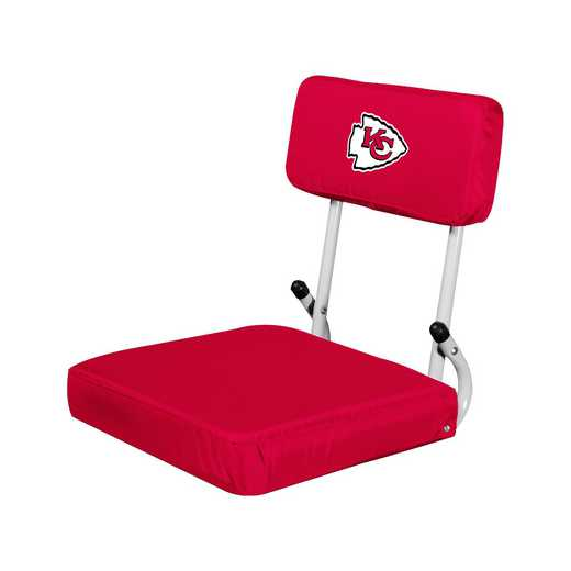 616-94: Kansas City Chiefs Hardback Seat