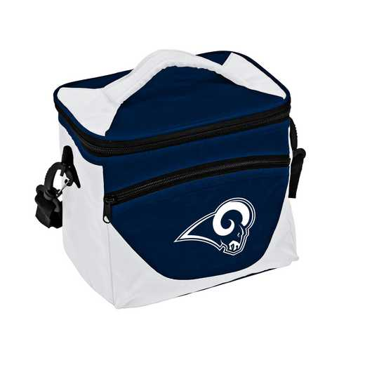 629-55H-1: LA Rams Navy/White Halftime Lunch Cooler