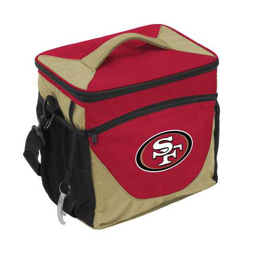 627-63: San Francisco 49ers 24 Can Cooler