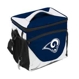 629-63-1: LA Rams Navy/White 24 Can Cooler