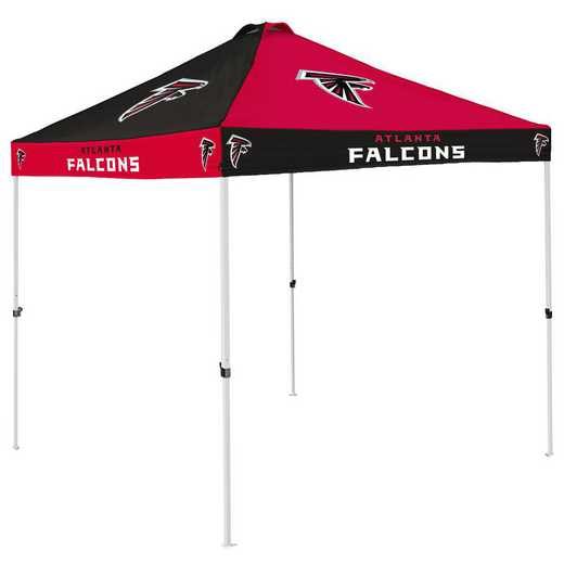 602-42C: Atlanta Falcons Checkerboard Canopy