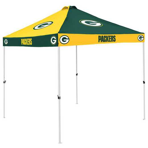 612-42C: Green Bay Packers Checkerboard Canopy
