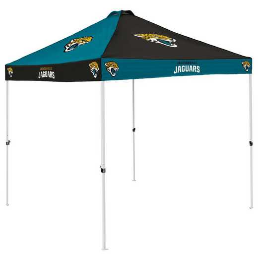 615-42C: Jacksonville Jaguars Checkerboard Canopy