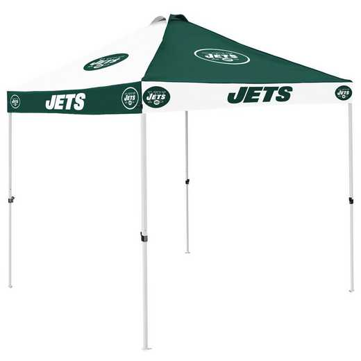 622-42C: New York Jets Checkerboard Canopy