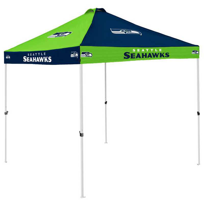 628-42C: Seattle Seahawks Checkerboard Canopy