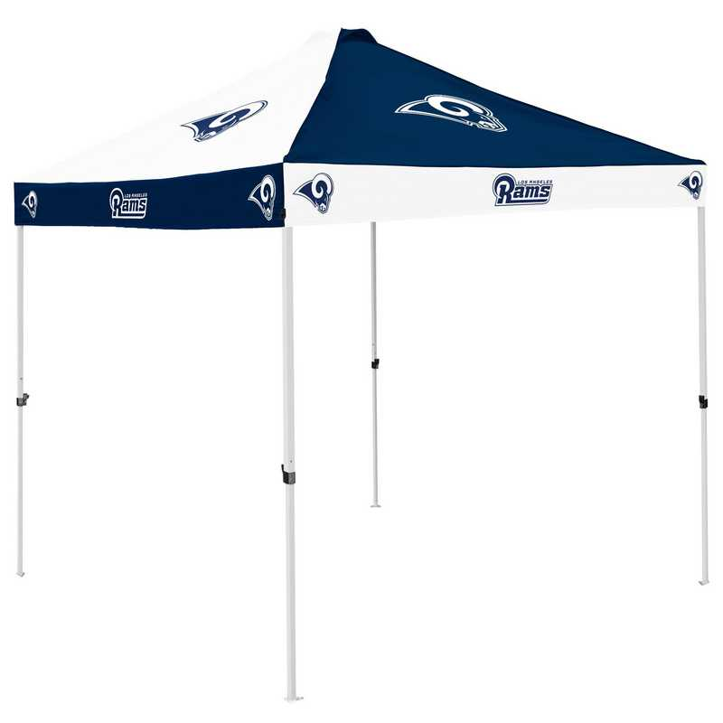 629-42C-1: LA Rams Navy/White Checkerboard Canopy