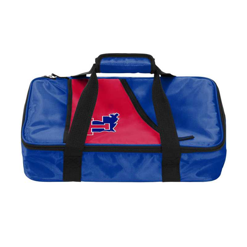 163-58C: NCAA Louisiana Tech Casserole Caddy