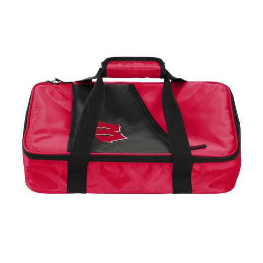 244-58C: NCAA Wisconsin Casserole Caddy