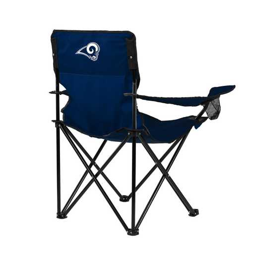 629-13Q-1: LA Rams Navy/White Game Quad Chair