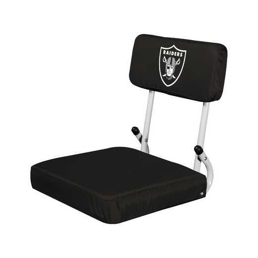 623-94: Oakland Raiders Hardback Seat