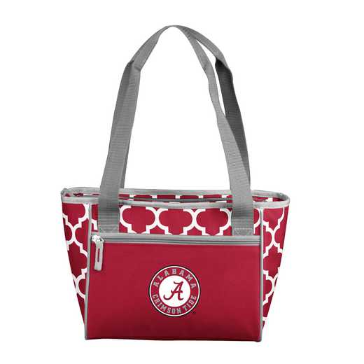 102-83-CR1: NCAA Alabama Qrtrfl 16Can Cooler Tote