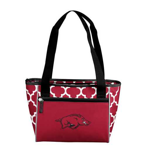 108-83-CR1: NCAA Arkansas Qrtrfl 16Can Cooler Tote