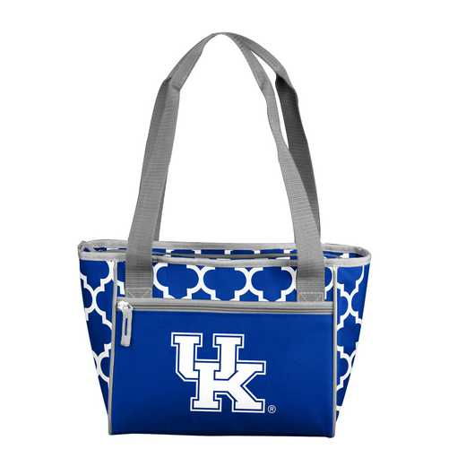 159-83-CR1: NCAA Kentucky Qrtrfl 16Can Cooler Tote