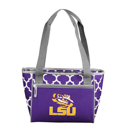 162-83-CR1: NCAA LSU 16 Qrtrfl Can Cooler Tote