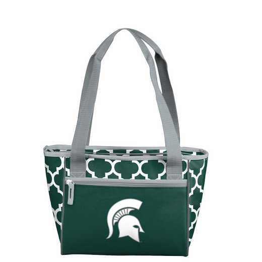 172-83-CR1: NCAA MI State Qrtrfl 16Can Cooler Tote