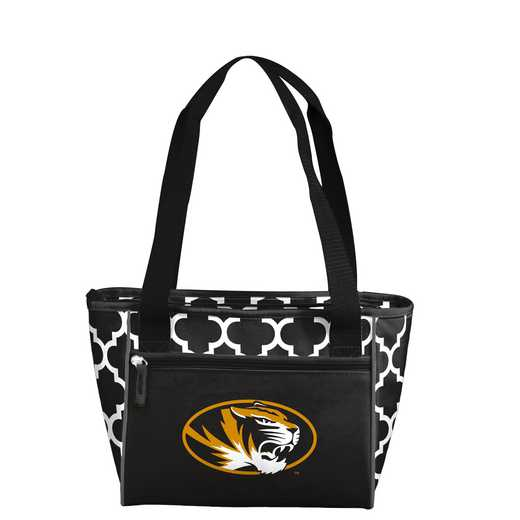 178-83-CR1: NCAA Missouri Qrtrfl 16Can Cooler Tote